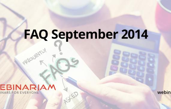 FAQ September 2014