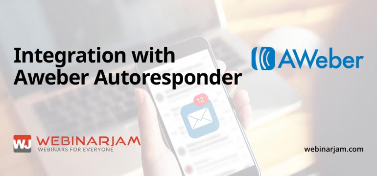 Integration With Aweber Autoresponder