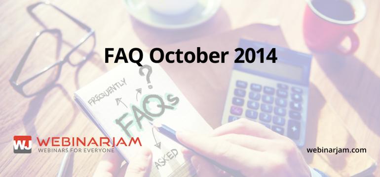 FAQ October 2014