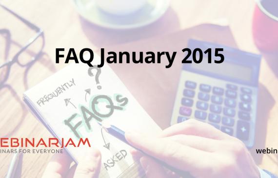 FAQ JANUARY 2015