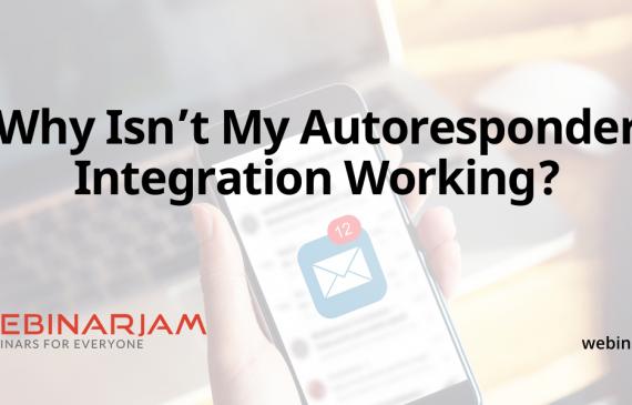 Why Isn't My Autoresponder Integration Working