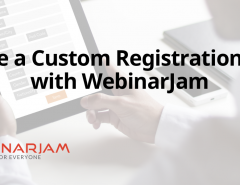 Create A Custom Registration Page With WebinarJam