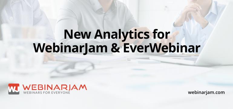 [Update] New Analytics For WebinarJam EverWebinar