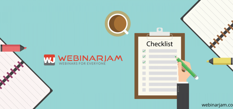 Critique Your Webinars Checklist